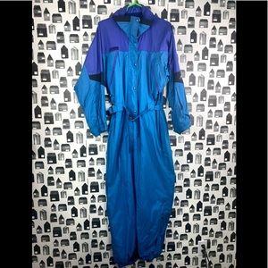 Columbia | Women's Vintage Blue One Piece Ski Suit